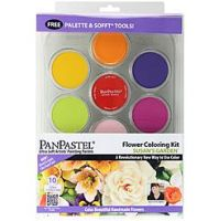 Iron Oxide Art-Pan-Pastel-Set-Flowering-Colourin