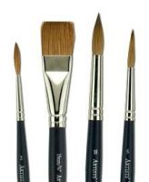 Iron Oxide Art WN Sable Hair Brushes2