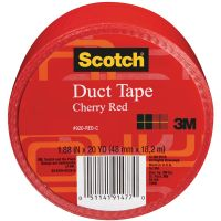 Iron Oxide Art-Scotch-Duct-Tape-RED