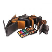 Iron Oxide Art-Global-Art-Leather-Pencil-Cases