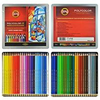 Iron Oxide Art-Koh-I-Noor-Polycolor-Colored-Pencils-48pk