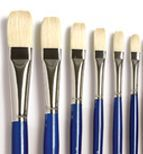 Iron Oxide Art Liquitex  bristlewhite brushes2