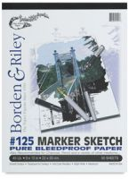 Iron Oxide Art-Borden-Riley-125-Marker-Sketch-Pad-50-Sheets