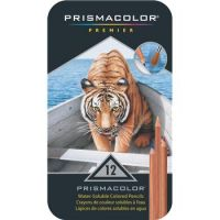 Iron Oxide Art-Prismacolor-Colored-Water-Soluable-Pencils-12pk