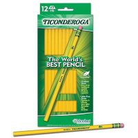 Iron Oxide Art-Ticonderoga-12-HB-Pencil.JPG