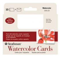 Iron Oxide Art Supplies-Strathmore-Watercolor-Cards-10pk