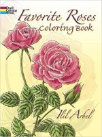 Iron Oxide Art-Dover-Coloring-Book-Favourite-Flowers