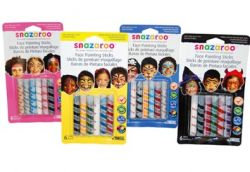 Iron Oxide Art-Snazaroo-Face-Paint-Stick-Sets