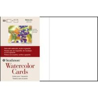 Iron Oxide Art Supplies-Strathmore-Watercolor-Cards-50pk