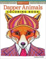 Iron Oxde Art-Dapper-Animals-Coloring-Books