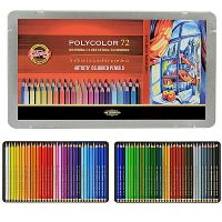 Iron Oxide Art-Koh-I-Noor-Polycolor-Colored-Pencils-72pk