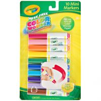 Iron Oxide Art-Crayola® 10-ct. Color Wonder® Mini Markers