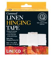 Iron Oxide Art Gummed Linen Hinging Tape