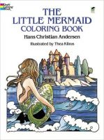 Iron Oxide Art-Dover-Coloring-Book-Little-Mermaid