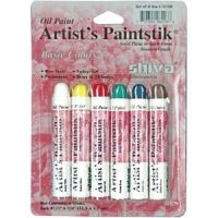 Iron Oxide Art Shiva Paint Sticks Basic Color Student Package