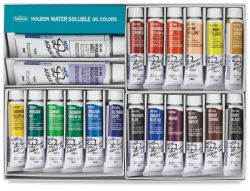Iron Oxide Art-Holbein-Duo-Aqua-Oil-Paints2