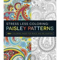 Iron Oxide Art-Stress-Less-Colouring-Paisley-Patterns