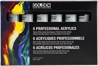 Iron Oxide Art Golden Principal Professional HeavyBody Acrylic Set