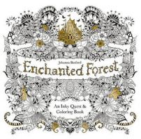 Iron Oxide Art Supplies Enchanted Forest Coloring Book2