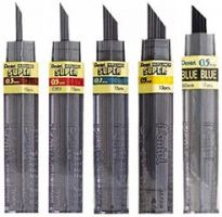 Iron Oxide Art pentel-leads-refills