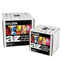 Iron Oxide Art-Golden-a-z-acrylic-set
