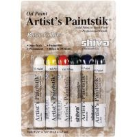 Iron Oxide Art Shiva Paint Sticks Basic Color Package