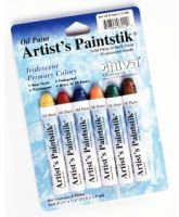 Iron Oxide Art Shiva Paint Sticks Iridescent-Primary-Colors-Package