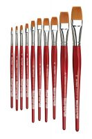Iron Oxide Art Supplies-Da-Vinci-Cosmotop-Various-Brushes