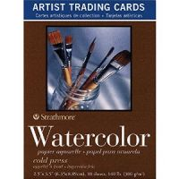 Iron Oxide Art-Strathmore-Watercolor-Artist-Trading-Cards
