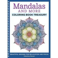 Iron Oxide Art-Mandalas and More Colouring Book Treasury