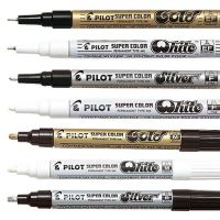 Iron Oxide Art PILOT-gold-silver-white-Markers