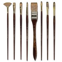 Iron Oxide Art-Winsor-Newton-Monarch-Brushes