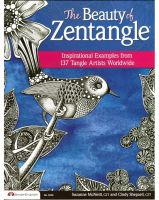 Iron Oxide Art-The Beauty of Zentangle Suzanne McNeill and Cindy Shepard Book